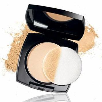 Avon ideal shade pressed powder tawny/fauve