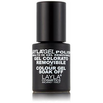 Layla Cosmetics Layla Gel Nail Polish Colour Violet Gloss x 0.01 Litre by LAYLA COSMETICS