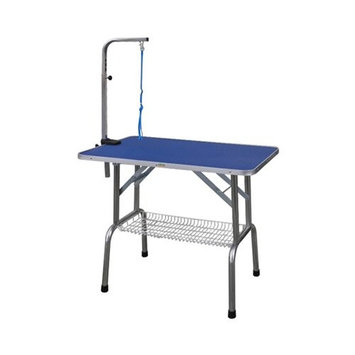 Go Pet Club Heavy Duty Pet Dog Grooming Table with Arm