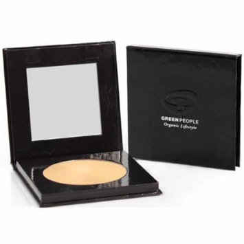 Green People Organic Make-Up - Pressed Powder - Caramel Light - 10g by Green People