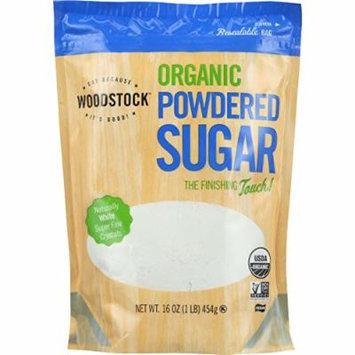 Woodstock Sugar - Organic - Powdered - 16 oz - case of 12 - 95%+ Organic - Vegan