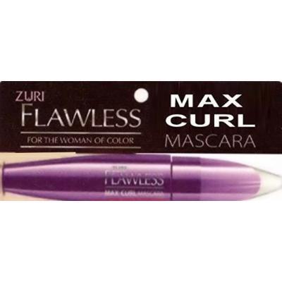 Zuri Flawless Max Curl Mascara - Jet Black (Pack of 3)