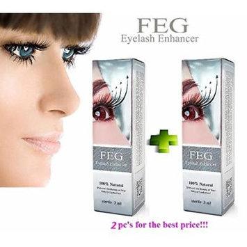 2 X FEG Eyelash Enhancer Growth Liquid/Serum. 100% Original with Anti-Fake sticker!!!