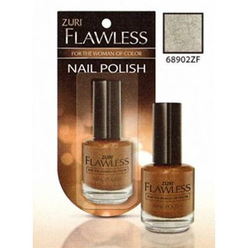Zuri Flawless Nail Polish - Sterling Silver (Pack of 2)