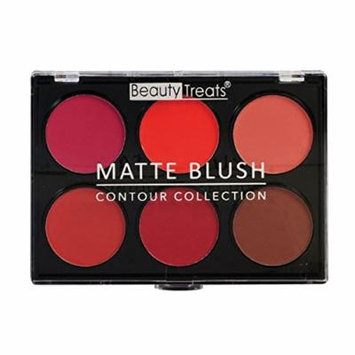 (6 Pack) BEAUTY TREATS Matte Blush Contour Collection 02