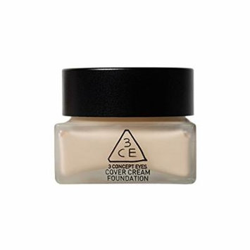 [3CE]3CE COVER CREAM FOUNDATION 35g (#01 Light vanilla)