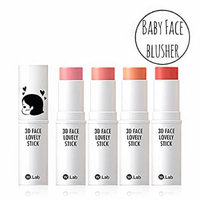 [W.Lab] 3D Face Lovely Stick (Coral Candy Pop)