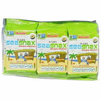 SeaSnax Grab Go Premium Roasted Seaweed Snack Wasabi 6 Pack 0 18 oz 5 g Each
