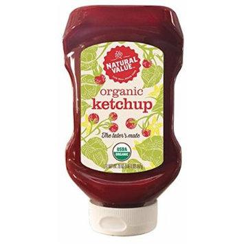 Natural Value 20 oz. Organic Ketchup, 12-ct. case