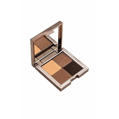 Gallany Cosmetics Eye Shadow Quad Palette, Earth Tone Eyeshadow, Natural Brown Smokey Eye, Shimmering Pigments (Tweed)
