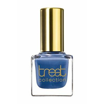 treat collection - Vegan / 5 Free Nail Polish MOONLIGHT (Medium Blue With A Warm Undertone)