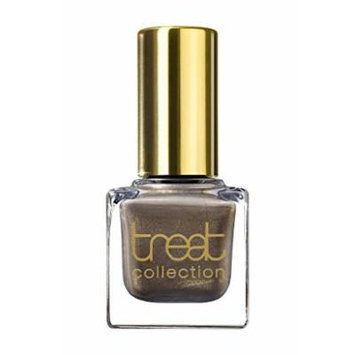 treat collection - Vegan / 5 Free Nail Polish MUST HAVE (Dark Greyish Brown Infused With Subtle Golden Shimmer)