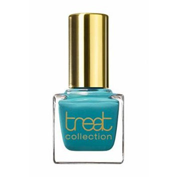 treat collection - Vegan / 5 Free Nail Polish MINT JULEP (Indian Ocean Turquoise-Blue)