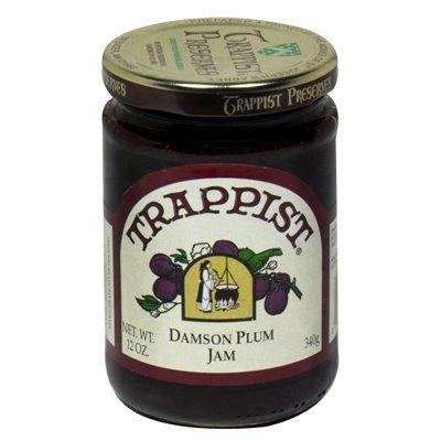 Trappist Jam,Damson Plum 12 Oz (Pack Of 12)