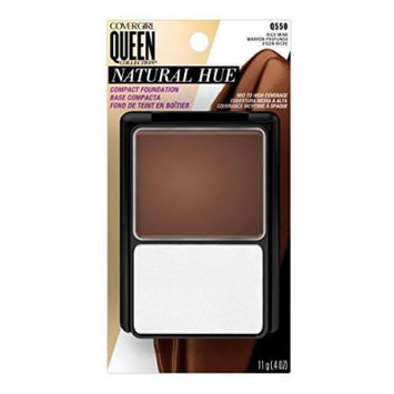 CoverGirl Queen Collection Natural Hue Compact Foundation, Rich Mink 550, 0.4 Ounce Compact by COVERGIRL