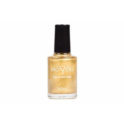 Gold, Emperors Gold, Mystic Stone Colours Stamping Nail Polish by MoYou Nail used to Create Beautiful Nail Art Designs Sourced Directly from the Manufacturer - Bundle of 3