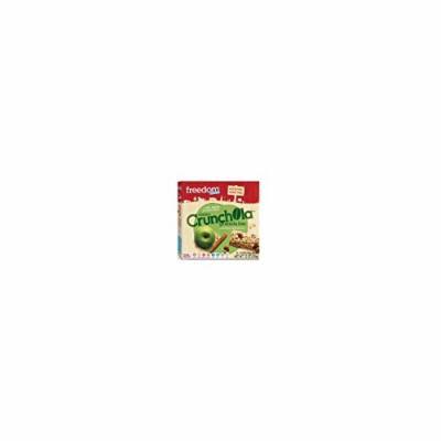 Freedom Foods Crunchola Bars Apple Cinnamon - Case of 6 - 7.2 oz - Dairy Free - Yeast Free - Wheat Free - Vegan