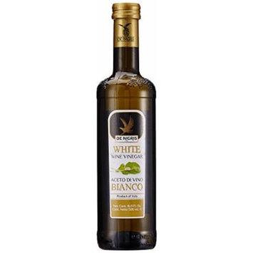 De Nigris Wine Vinegar, White, 500ml