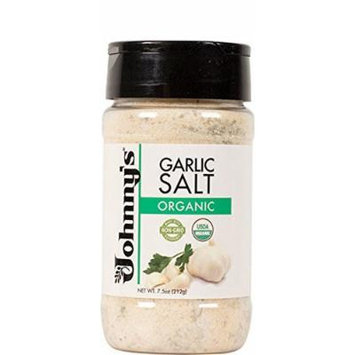 Johnny'S, Garlic Salt, Og2, Pack of 6, Size - 7.5 OZ, Quantity - 1 Case