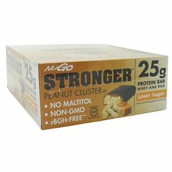 NuGo Stronger, Peanut Cluster by NuGo
