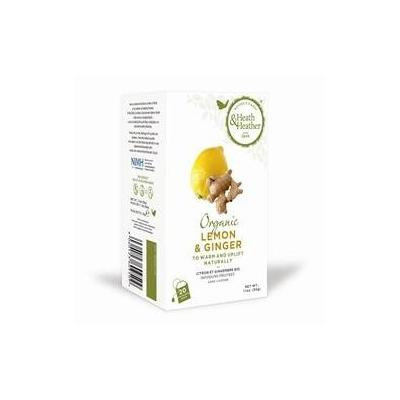 Heath & Heather - Organic - Lemon & Ginger - 30g by Heath & Heather
