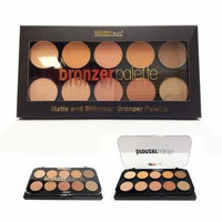 (3 Pack) BEAUTY TREATS Matte and Shimmer Bronzing Palette