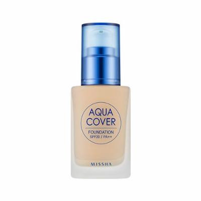 [Missha] Aqua Cover Foundation SPF20 PA++ #23
