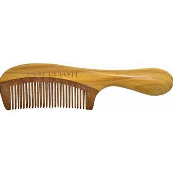TANG DYNASTY® No Static 100% Handmade Natural Sandalwood Wood Comb With Gift Box 043