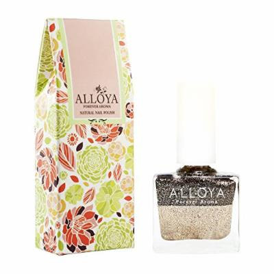 Alloya Natural Non-Toxic, Five-free, Vegan formula Nail Polish, Peel Off & floral scented, 106 Sunset Beach