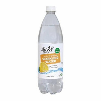 Sparkling Water; Lemon Flavored