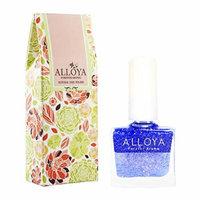 Alloya Natural Non-Toxic, Five-free, Vegan formula Nail Polish, Peel Off & floral scented, 105 Seabreeze of Summer