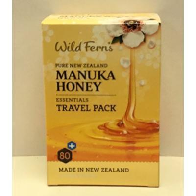 Manuka honey essentials Travel pack by Wild Ferns