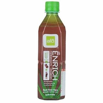 Alo Enrich Aloe Vera, Pomegranate & Cranberry Juice 500ml by Alo