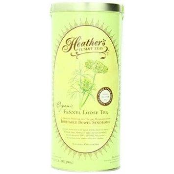 Tummy Teas, Fennel Loose Tea, Organic, Caffeine Free, 16 oz (453 g) by Heather's Tummy Care