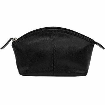 Ili Womens Ili Leather Dome Cosmetic Case