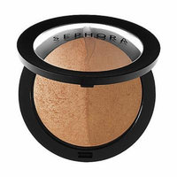 SEPHORA COLLECTION Microsmooth Baked Bronzer Duo 01 Honey Heat