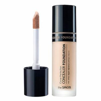 [The Saem] Cover Perfection Concealer Foundation 38g #02 Rich Beige