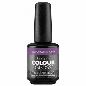 Artistic Colour Gloss Soak Off Gel Nail Polish - I've Been Good-Ish 15ml (2100052)