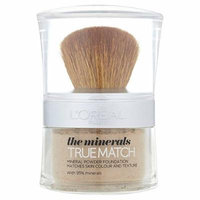 L'Oreal True Match Minerals Powder Honey Glow N6 10ml (PACK OF 6)