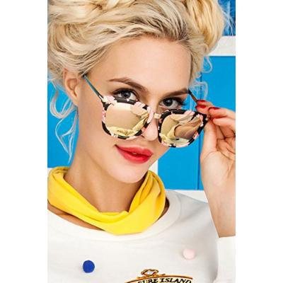 Generic 2017_new_ sunglasses women girls _tide_ fashion _stars,_ glasses_with_Ms.