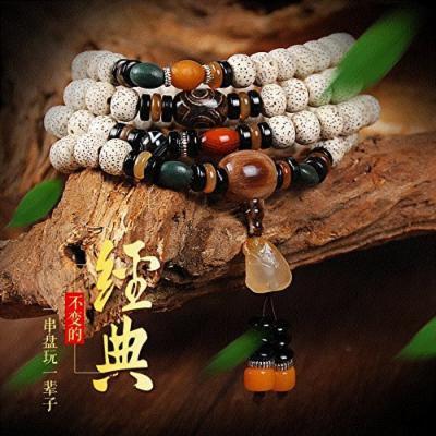 Generic Xingyue_Pu_Tizi_108_ bracelet s_density_agalmatolite_month_+_ accessories Beads bracelet men man boy necklace pendant