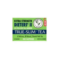 Bamboo Leaf Brand Extra Strength Dieters' II True Slim Tea 12 Bags by Unknown
