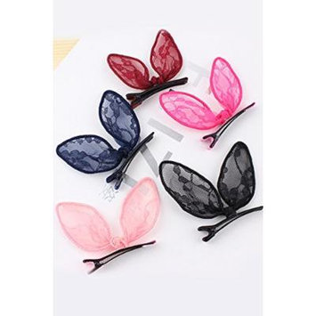 Generic [Home]_Han_Jia_Bao_shall_sell burgeoning_international_water_drilling_Edge_ clips_Lin_Zhi_Ling,_with_lace_and hair clip clips