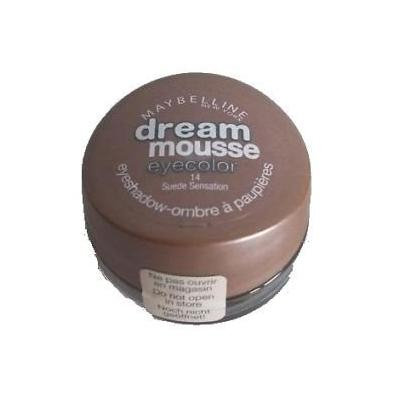 Maybelline New York Dream Mousse Eye Colour Eyeshadow-Ombre a Paupieres-14 Suede Sensation-NEW by Luxe