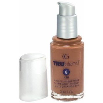CoverGirl TruBlend Liquid Makeup Foundation, Toasted Almond 470 1 fl oz (30 ml) by Unknown