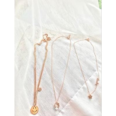 Generic 10_Liu_ rose gold necklace pendant _does_not_fade