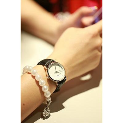 Generic small_number beauty simple_ Belt _couples_ watch