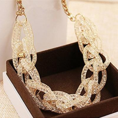 Generic High-end_goods_Hua_Liao_ short _paragraph_ diamond necklace pendant Europe _exaggerated_decoration_evening_ women girl Korean jewelry _luxury_ accessories