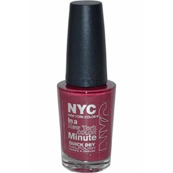 NYC Quick Dry Nail Polish 9.7ml Downtown by NYC New York Color