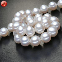 Generic New_Listing_9-10_nearly_ round _Aurora_flawless_ Natural _freshwater_ pearl necklace pendant _strange_color